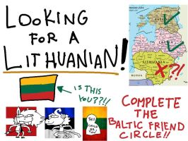 ANY HOT SINGLE LITHUANIANS IN YOUR AREA?!? by WowzaDawg