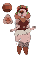 Gem Fusion: Red Spot Marble by aartisticTheatrics
