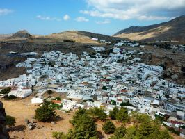 Lindos by focht
