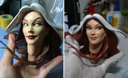 [Repaint] Rogue Premium Format 1/4 - Sideshow by Bluudy