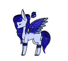 Moonlight adopt Mlp Open auction by FrostyEmojoAdopts