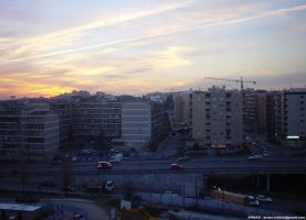 Sunset at Braga I by Arnax