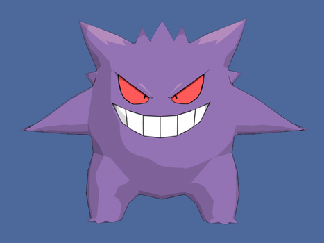 Gengar Model by TheCrucius