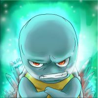 Squirtle is Cold by MurPloxy
