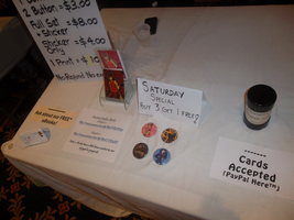 Convention Table 2014 by co-comic