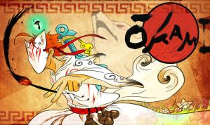 CrY PlaYs OkamI(2) by UNWanTED-ArT