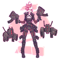 Gun Girl by Brobossa
