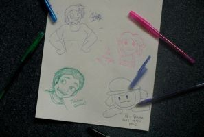 Misc - BoredKids by caat