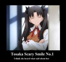 Tosaka Scary Smile no.1 by neogoki