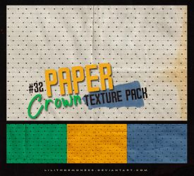 Paper Crown Texture Pack #32 by LilithDemoness