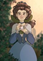 Margueritte Grey - Over The Garden Wall by isabelanogueira
