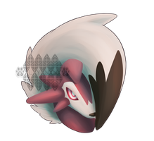 Lycanroc Midnight Form by Starry-Dreamer8