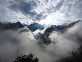 Andes after the rain by kamuidestiny