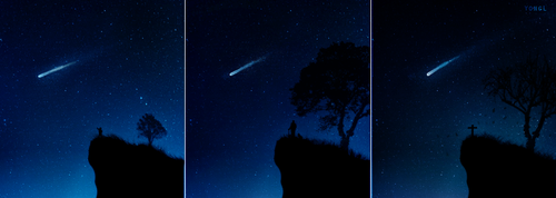 Halley's Comet by YongL