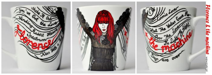 Florence Welch and the Machine by smist
