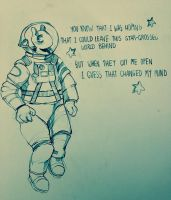 spaceman by cayotze