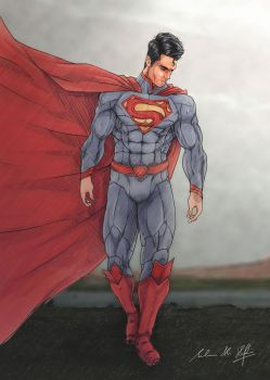 Man of Steel New52 by Frostbite194