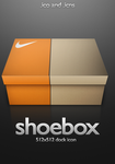 Nike Shoebox Icon by PsychOut