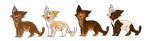 Brownie Points | Adopts by AnimalCartoons