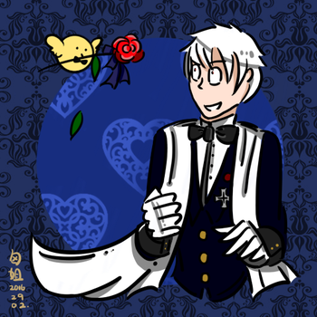 [APH] Prussia//Raoul Icon by darkcreamz95