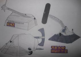 TEAM HURTZ poster by sgtjack2016