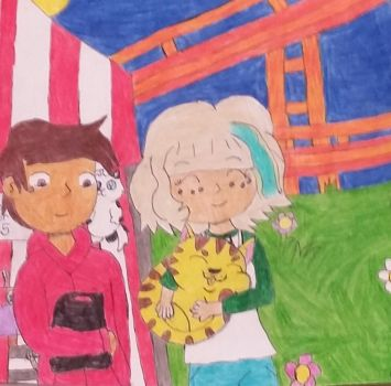 day at the fair by Roxasfan23
