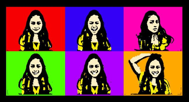 Ninda Luara Pop Art by anggaa