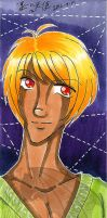 FOR SALE OOAK Traditional Marker Drawing Bookmark3 by kuroitenshi13