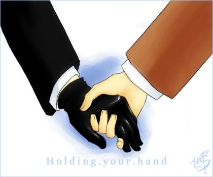 J and W: Holding your hand by Stumppa