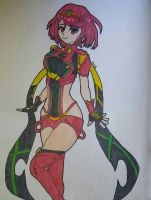 Pyra by Ncid
