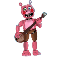 [FNaF/CollabEntry] PigPatch by PixelKirby340