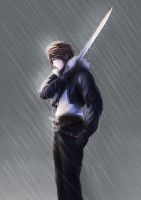 Final Fantasy VIII - Squall's Victory by vincyWP
