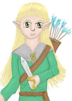 My Elfling by deadeuphoric