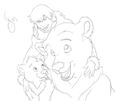 Brothers - WIP by Zentina