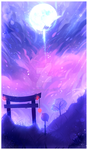 BELLA NOCHE // ANOTHER RAMDOM BACKGROUND! :3 by BloomWaterfall