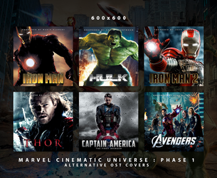 MCU Phase 1 - Alternative OST Covers by HelloMrBen