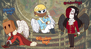 Adoptable: Masked Angels (CLOSED) by Beartie