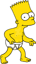 Bart In His Underwear 2 by cjrules10576