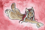 Bobcat Feather by shiverz