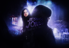 Jessica Jones [Wallpaper] by monagory