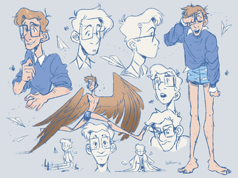 [AT] - Alfie Sketchpage by Sylthian