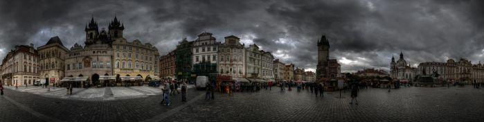 Old Town Square, Prague by uzuncan
