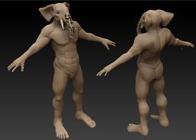 Brother Warth WIP by Angrysmack