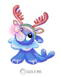 Alolan Christmas - Popplio by Hyzave