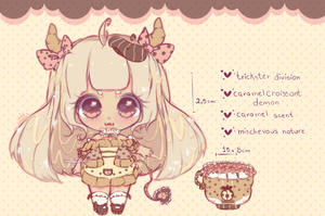| closed| caramel croissant flooffie set price by mauururu