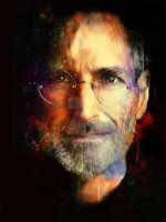 Steve Jobs for Rolling Stone Magazine by turk1672