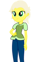 Acutie in EQG style by Tyler3967