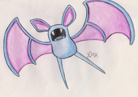 Zubat by Shabou
