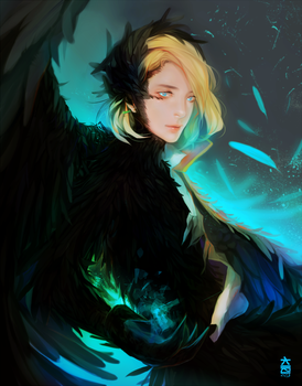 Howl's transformation by keerou