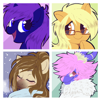Icon commission pack number 64 by BloodyArchimedes